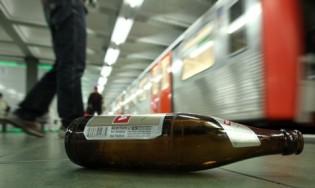 Alkoholverbot in Hamburger U- und S-Bahnen