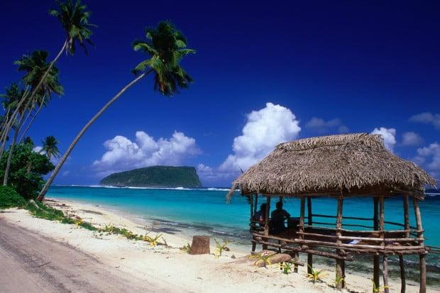 Lalomanu-Beach-on-the-eastern-end-of-Upolo-Island-Samoa