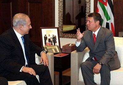 King-Abdullah-II-Netanyahu