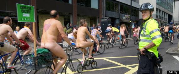 London Naked Bike Ride LNBR WNBR