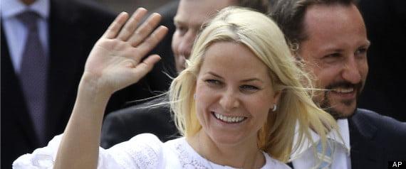 Princess Mette-Marit, Prince Haakon Magnus