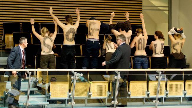 nacktprotest