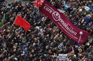 Blockupy-Protests-In-Frankfurt