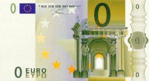 0 EUR Banconota