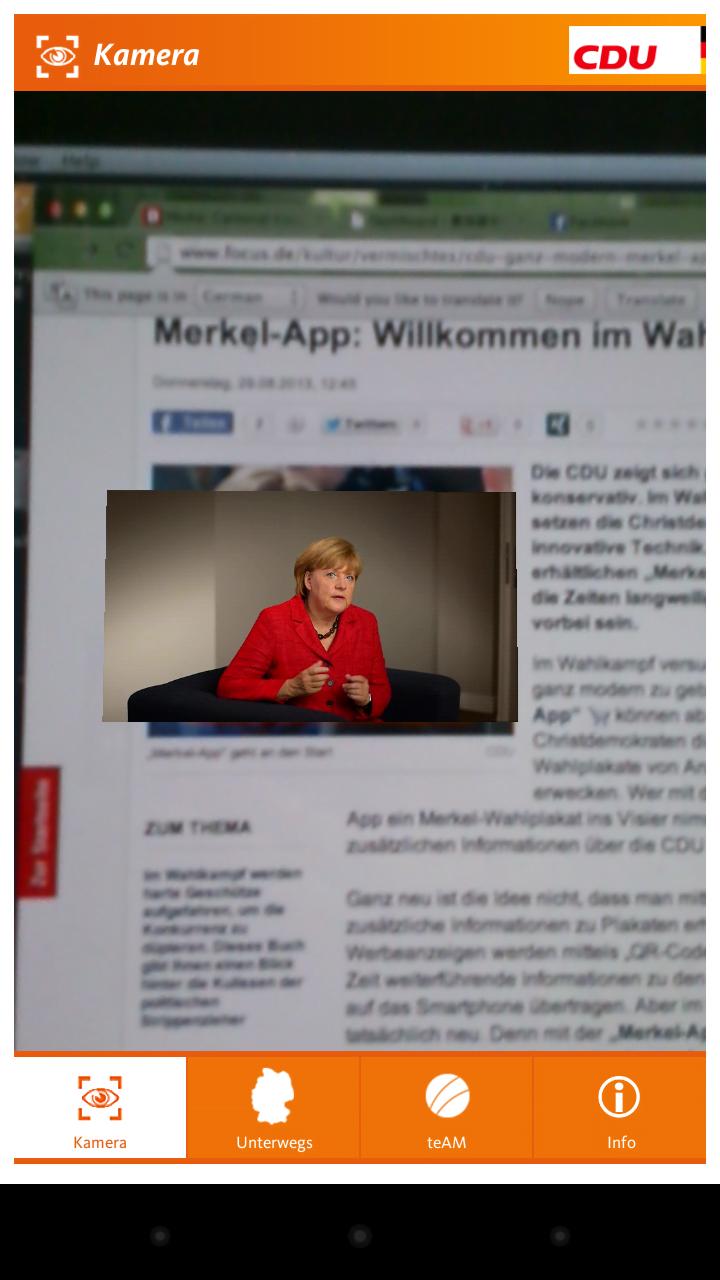 筆者以手機 app 對著電腦螢屏上的海報,都會自動播片
