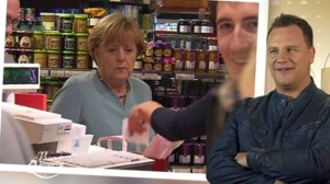 merkel shopping queen