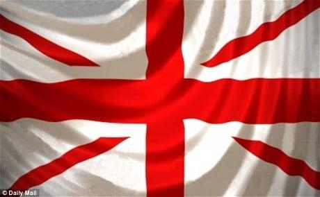 每日郵報:英國新國旗?
