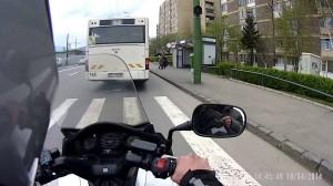 brasov bus motercycle