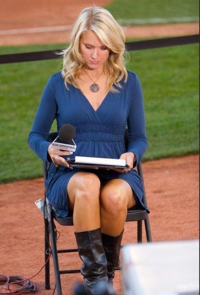 美國記者  Heidi Watney,前加州小姐