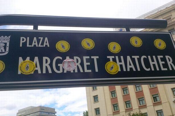 Thatcher-sign