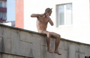 Russian Artist Cuts Off His Ear
