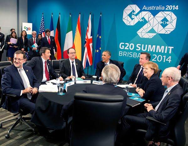 類似組合在去年的布里斯本G20峰會