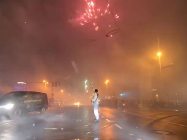 This is how Berlin celebrates New Years Eve