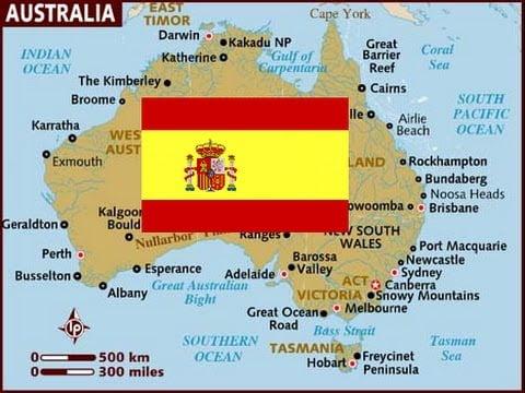 spainish Australia