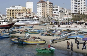 PALESTINIAN-ISRAEL-CONFLICT-GAZA-PORT-FEATURE