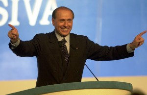 Berlusconi-comizio