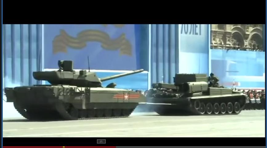 Rossiya tank t14 fail