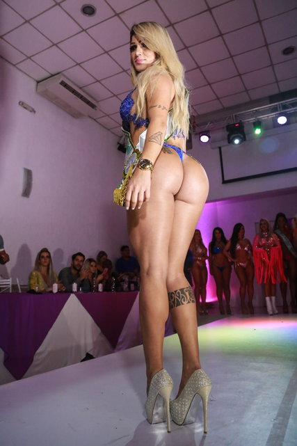 FEATURE - Sao Paulo: Miss BumBum Wahl