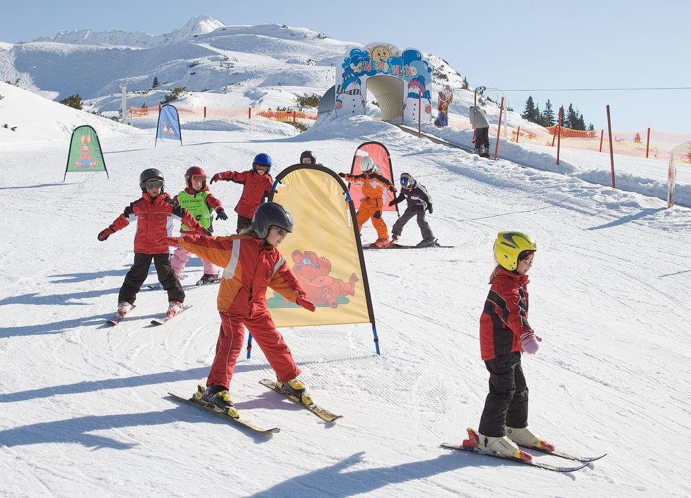 BILD zu TP/OTS - Skikurs mit Erfolgsgarantie fŸr Kinder ab 5 Jahre in der Skischule Klostertal.