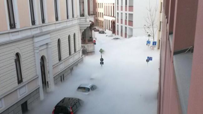 CO2 Ausstoß rund um den Schillerplatz bis zur Walpodenstraße