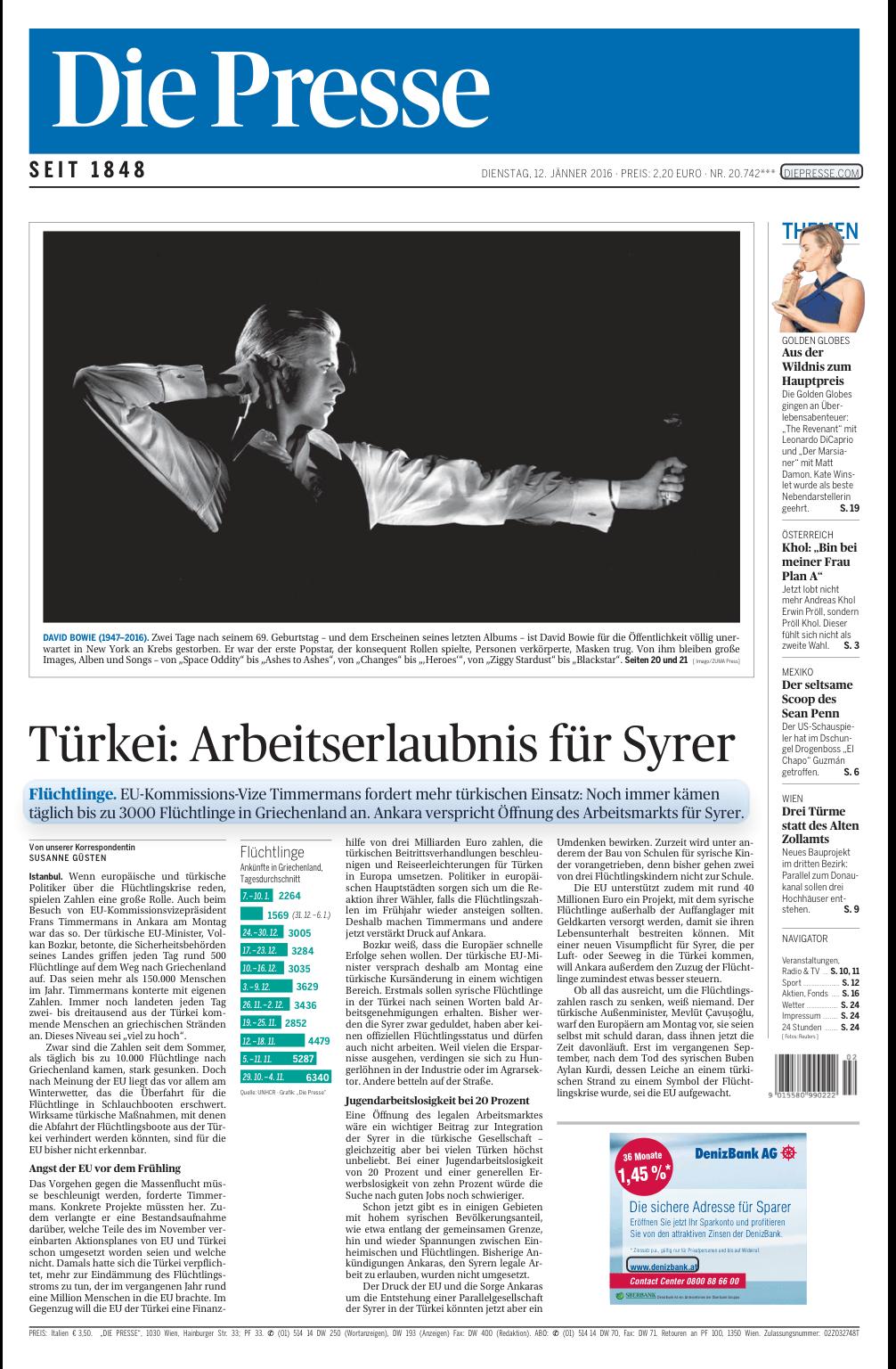 頭像就隨便貼一個算了,奧地利輿論報,黑白,應該算最潮,又不失中道。