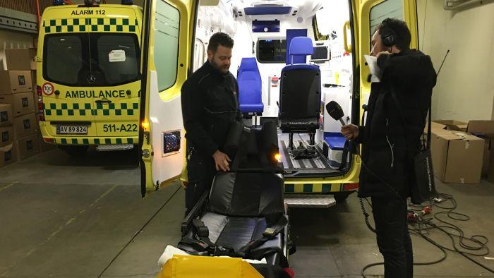 Musik i ambulancer