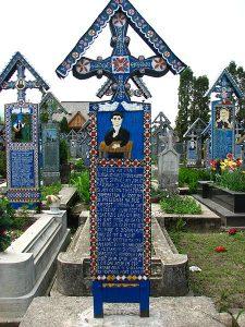 Cimitirul_Vesel_-_Săpânța_-_detalii