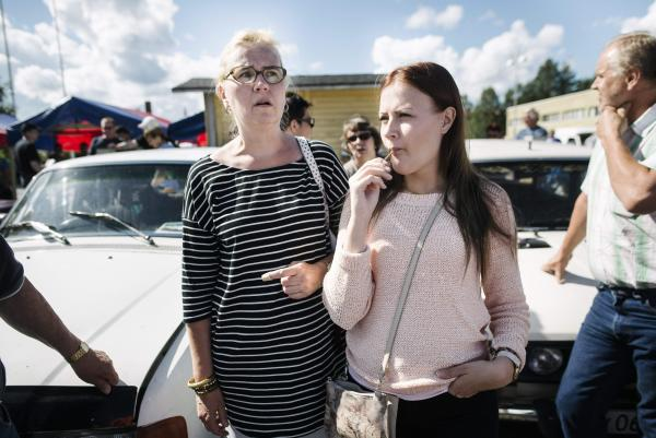 FINLAND-RUSSIA-EUROPE-MIGRANTS-AUCTION-CARS