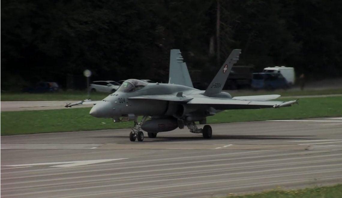 瑞士空軍終於有24小時戰機護航