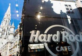 20120801 - BRUSSELS, BELGIUM: Illustration picture shows the Hard Rock Cafe, at the Grand Place - Grote Markt, in Brussels, Wednesday 01 August 2012. BELGA PHOTO NICOLAS LAMBERT