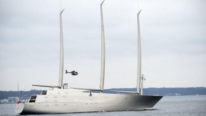 直布羅陀應德國船廠要求 扣留露富商遊艇