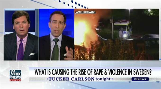 Fox News 記者被瑞典警察 斷章取義誤導侵