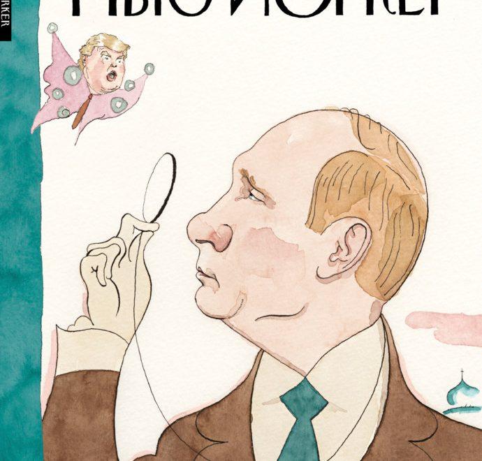 「紐約人」雜誌推露西亞文封面 教育侵