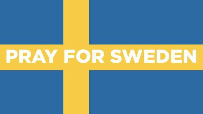 丹麥人為不存在的瑞典恐怖襲擊祈禱