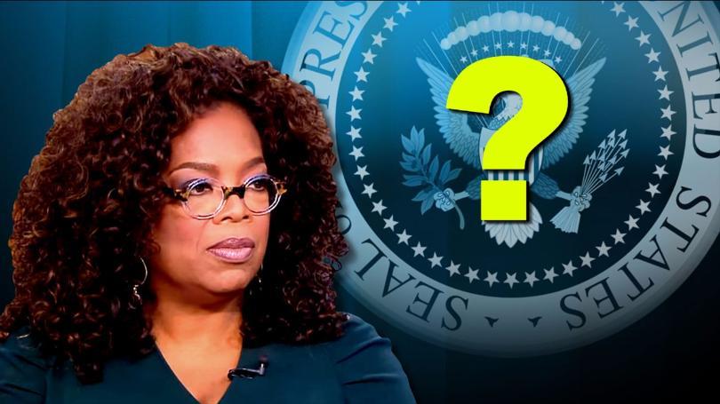 Oprah 打算選美國總統?