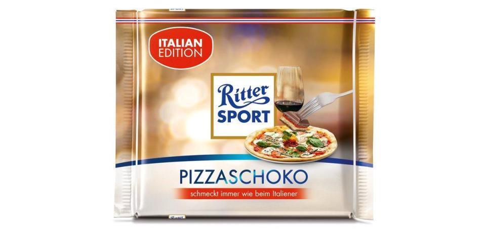 德廠商推出pizza味朱古力 惹恥笑