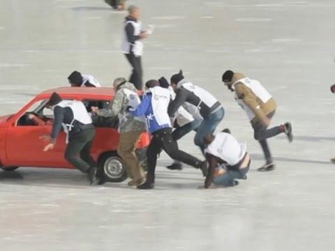 戰鬥民族戰鬥到搞出推車大賽?