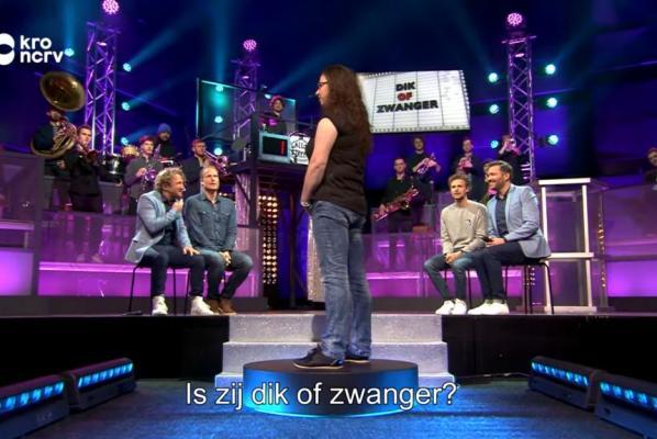 荷蘭電視節目叫人估肥定懷孕