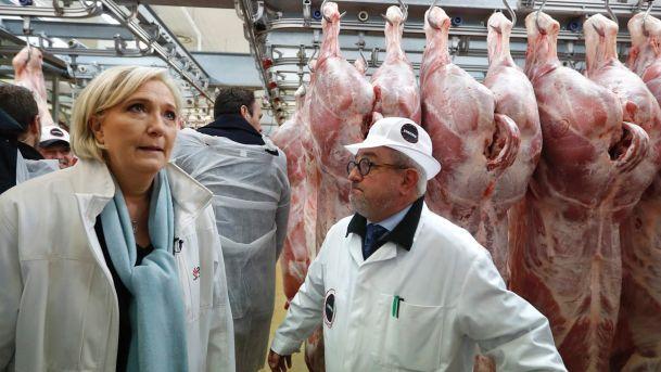 勒龐表示應該立法禁止回教屠宰方式