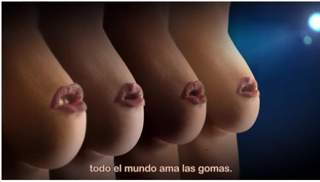 阿根廷露乳廣告竟然可以逃過FB delete?
