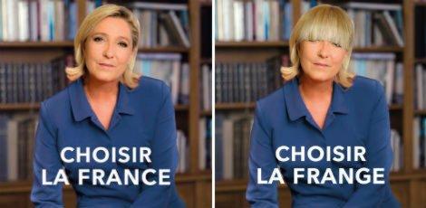 瑪麗勒龐新海報「選擇法國」被恥笑為「選擇Photoshop」