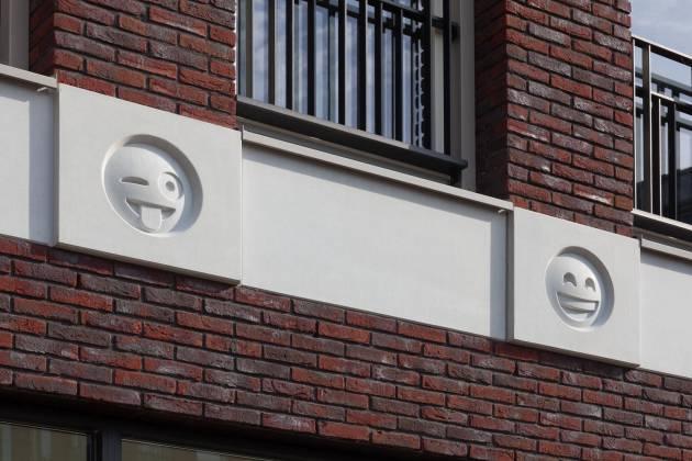 荷蘭城市出現 emoji 大樓