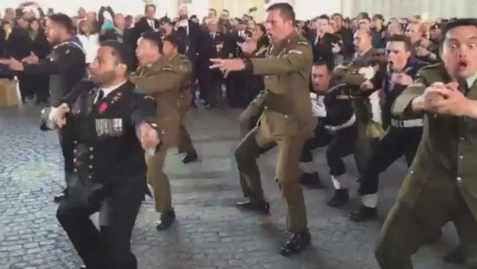紐西蘭軍團將 Haka 帶到一戰比利時戰場