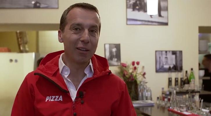 奧地利總理送pizza 竟然被發現先送黨工?