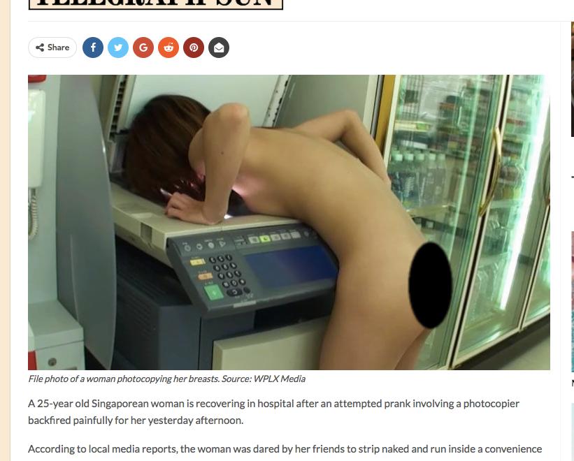 中文傳媒叻到星加坡新聞都辨認唔到真偽