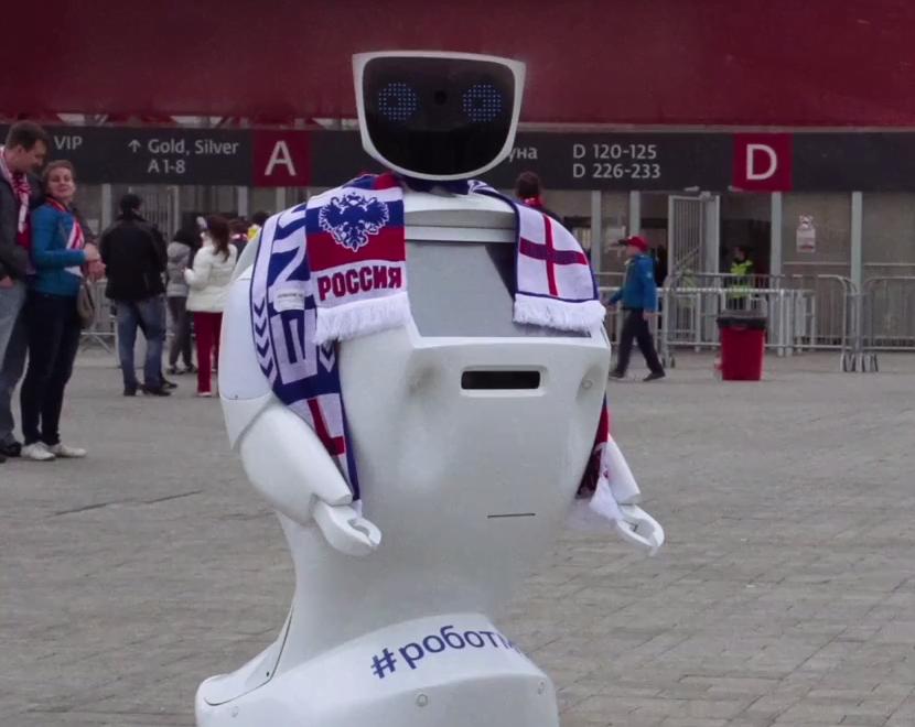 露西亞推出機械人保護英國球迷?