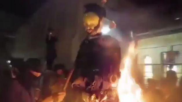 以色列極端保守宗派 拒絕服役 焚燒以軍士兵抗議