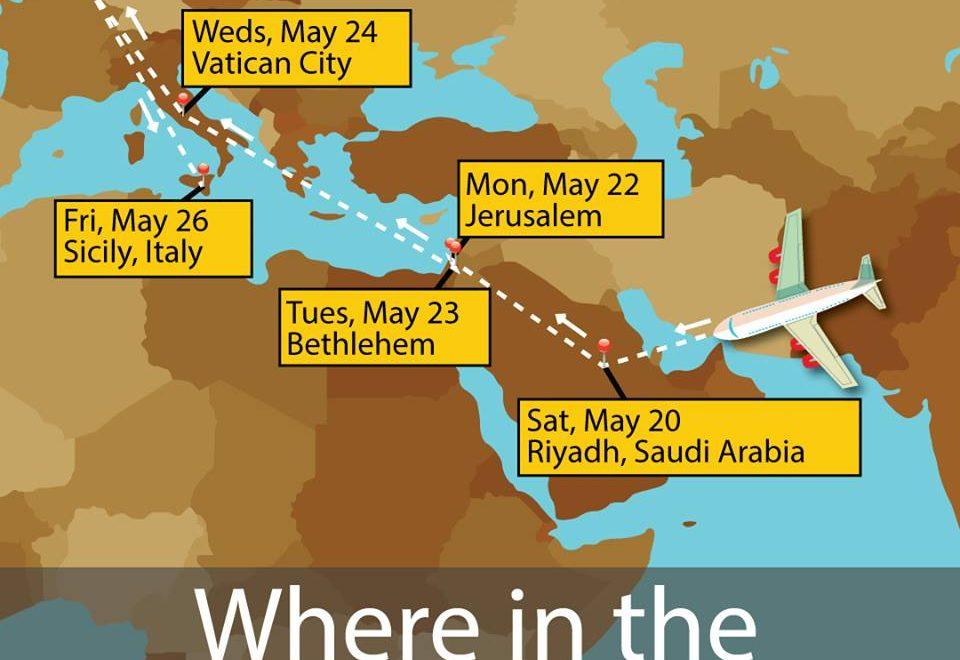 侵出訪 達成首班以色列沙地直達航班?