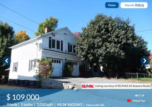 跨越美加邊境房屋拍賣