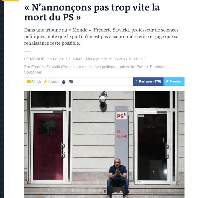 法國評論超譯:社會黨真係已死?